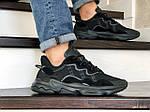 Мужские кроссовки Adidas Ozweego TR (черные) - весна-осень, фото 4