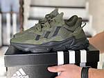 Мужские кроссовки Adidas Ozweego TR (темно-зеленые) - весна-осень, фото 2