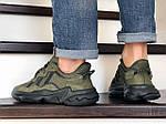 Мужские кроссовки Adidas Ozweego TR (темно-зеленые) - весна-осень, фото 4