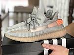 Мужские кроссовки Adidas x Yeezy Boost (серо-персиковые), фото 2