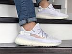 Мужские кроссовки Adidas x Yeezy Boost (белые), фото 2