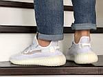 Мужские кроссовки Adidas x Yeezy Boost (белые), фото 4