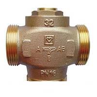 Термосмесительный  клапан DN 25, HERZ  Тепломикс для твердотопливных котлов