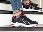 Мужские кроссовки Asics (темно-синие с белым), фото 4