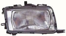 Фара правая Audi 80 91-94 механический/электрический корректор (DEPO). 441-1131R-LD-E