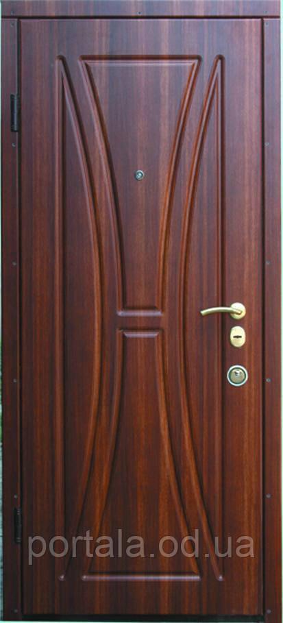 """Входная дверь для улицы """"Портала"""" (Люкс Vinorit) ― модель Натали"""