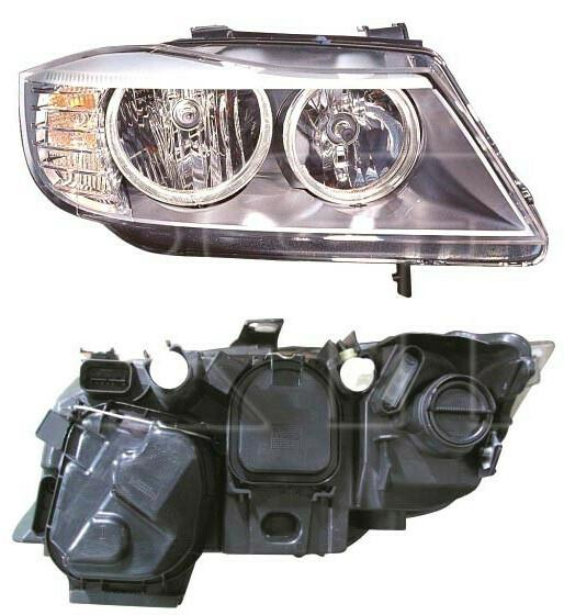 Фара BMW 3 (E90/E91) 06-11 правая элктрокор. (valeo тип) 08- (DEPO). 63117202574