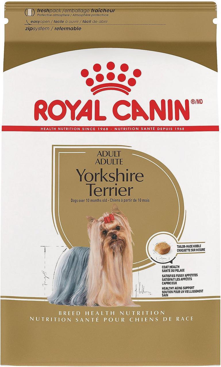 Полнорационный сухой корм для йорков Royal Canin Yorkshire Terrier Adult / 1,5 кг