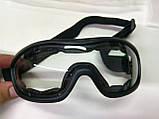 """Пылевлагозащитные очки-маска """"молоток""""! Новые! Количество!, фото 3"""