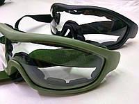"""Пылевлагозащитные очки-маска """"молоток""""! Новые! Количество!, фото 1"""