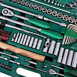 """HANS. Набор инструмента 158 предметов 1/4"""", 1/2"""" (TK-158V) (ТК-158V), фото 5"""