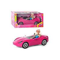"""Детский набор кукла Defa  """" Барби в кабриолете"""" 8228"""