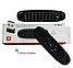 Беспроводной пульт аэромышь с клавиатурой Air Mouse UTM I8 Black, фото 8