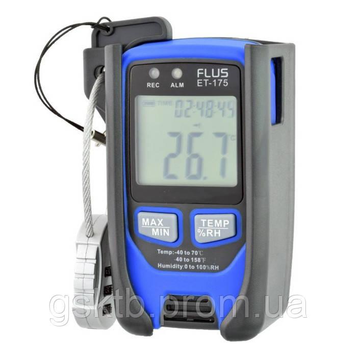 Регистратор температуры и влажности FLUS ET175