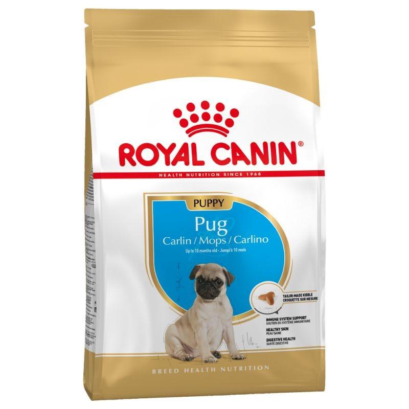 Для щенков мопсов Royal Canin Pug Puppy, 1,5 кг, роял канин