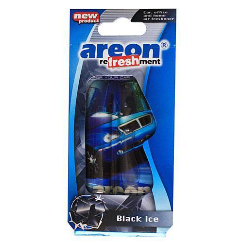 "Осв.воздуха гель AREON-VIP ""АВТО"" Black Crystal (LC08 - авто)"