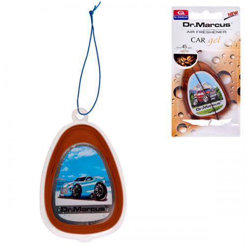 """Освежитель воздуха гель DrMarkus на зеркало """"Car Gel"""" Coffee (344)"""