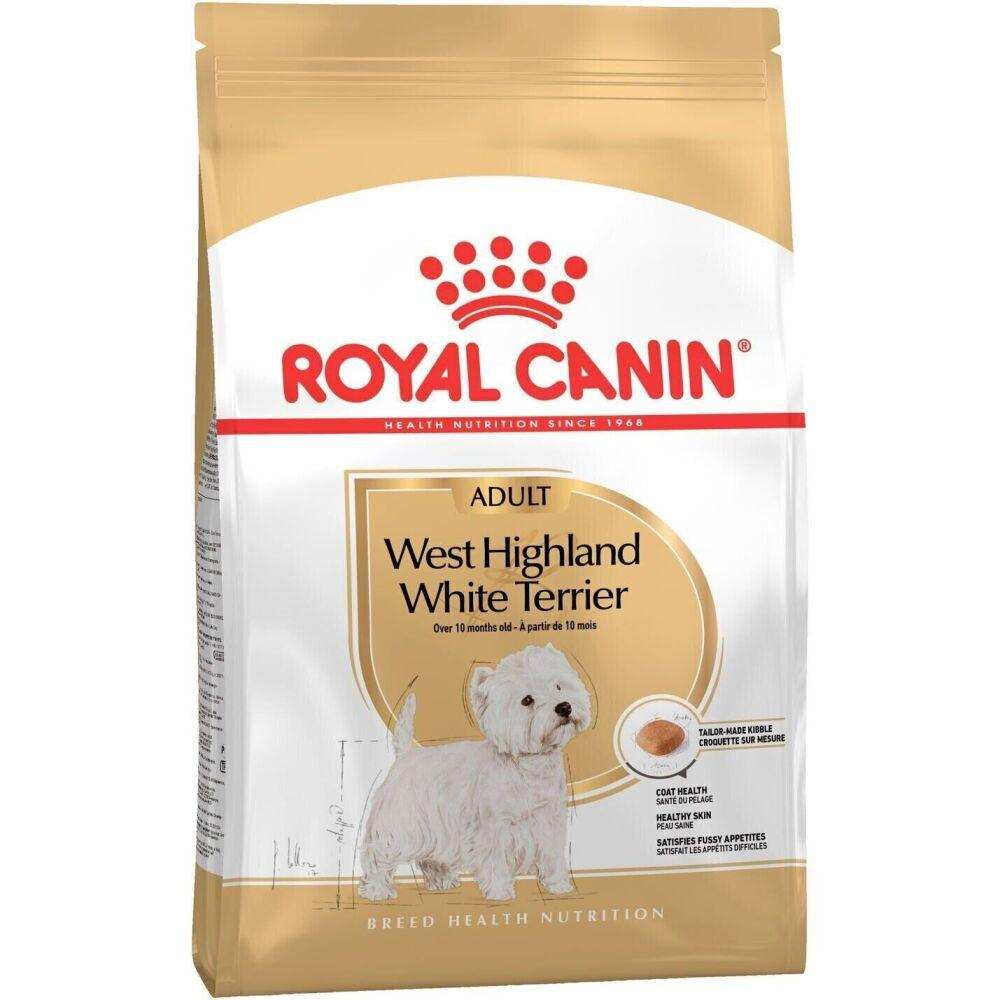 Корм для Вест-хайленд-уайт-терьеров Royal Canin West Highland White Terrier, 3 кг, роял канин