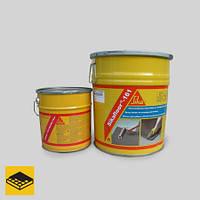 Эпоксидная грунтовка, вяжущее для выравнивающих растворов и стяжек SIKAFLOOR-161 (A+B), 30 кг