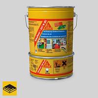 Полиуретановый цветной, матовый покрытие для завершающих слоев SIKAFLOOR-357N (A+B), 10кг