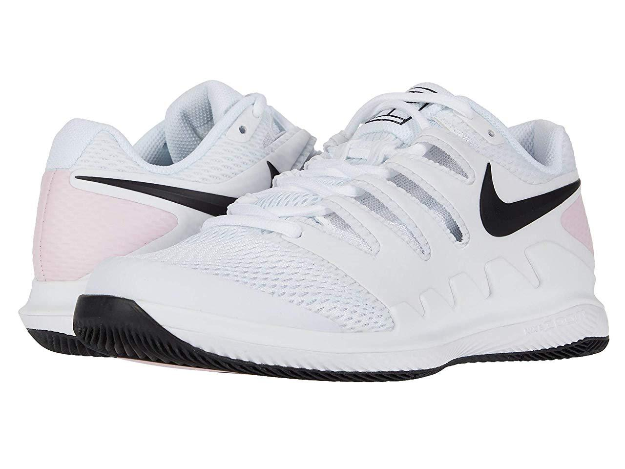 Кроссовки/Кеды (Оригинал) Nike Air Zoom Vapor X White/Black/Pink Foam