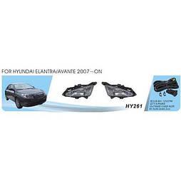 Фары доп.модель Hyundai Elantra/2006/HY-261W/881-27W/эл.проводка (HY-261W)