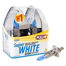 Лампы PULSO/галогенные H1/P14.5S 12v55w super white/plastic box (LP-12551)