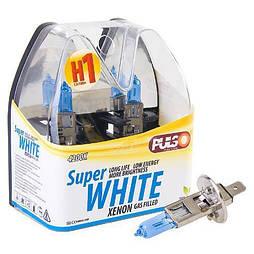 Лампы PULSO/галогенные H1/P14.5S 12v100w super white/plastic box (LP-12101)