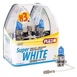 Лампы PULSO/галогенные H3/PK22S 12v55w super white/plastic box (LP-32551)