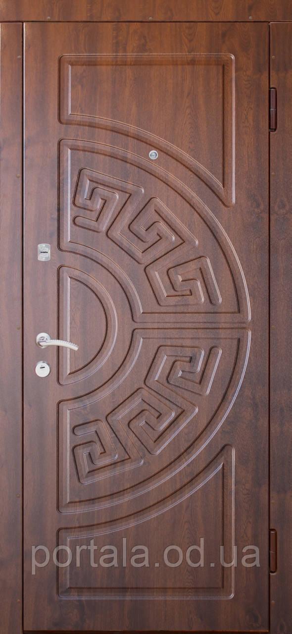 """Вхідні двері для вулиці """"Портала"""" (Еліт Vinorit) ― модель Греція"""