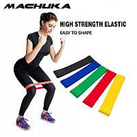 Ленты сопротивления, Резинки для фитнеса, Фитнес резинки, Фитнес резинки (5 шт.+ чехол)