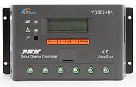 Контроллер, ШИМ 30А 12/24В с дисплеем, (VS3024BN) EPSolar, фото 1