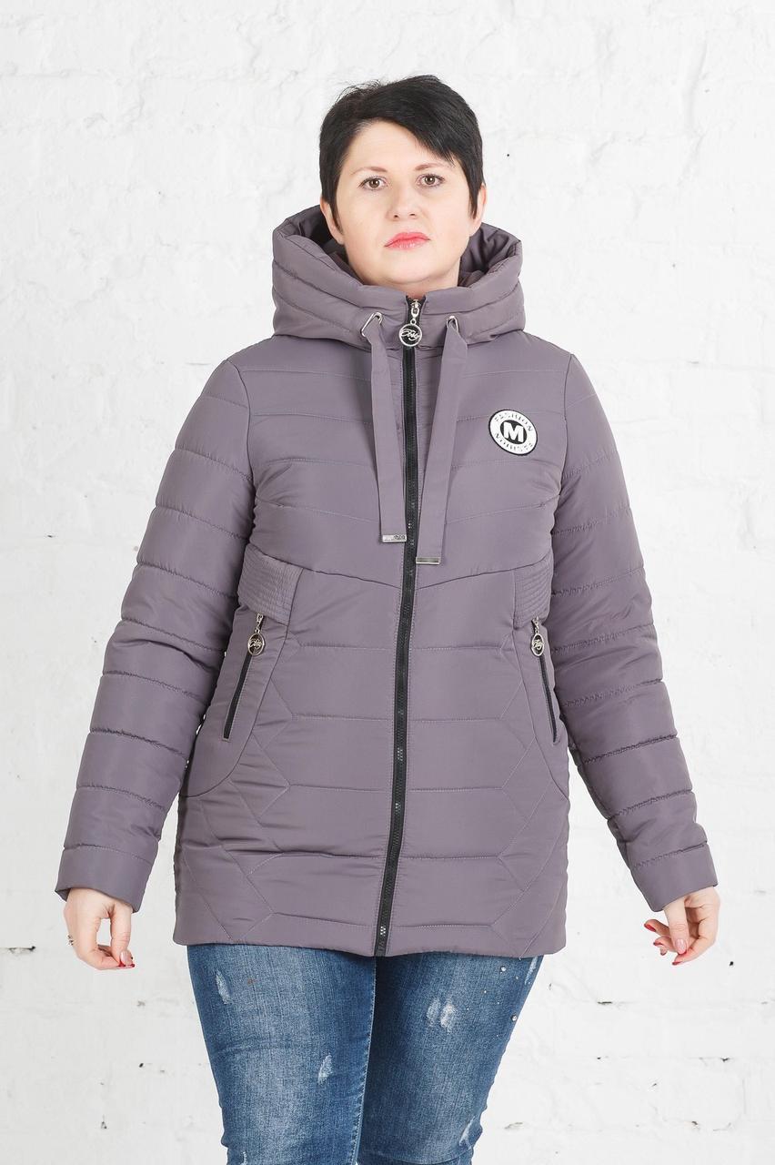 Жіноча весняна куртка великого розміру Клео