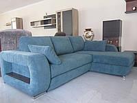 Мягкий удобный угловой диван для ежедневного сна Тренд с нишей для белья