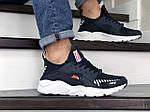 Мужские кроссовки Baas (темно-синие с белым), фото 4