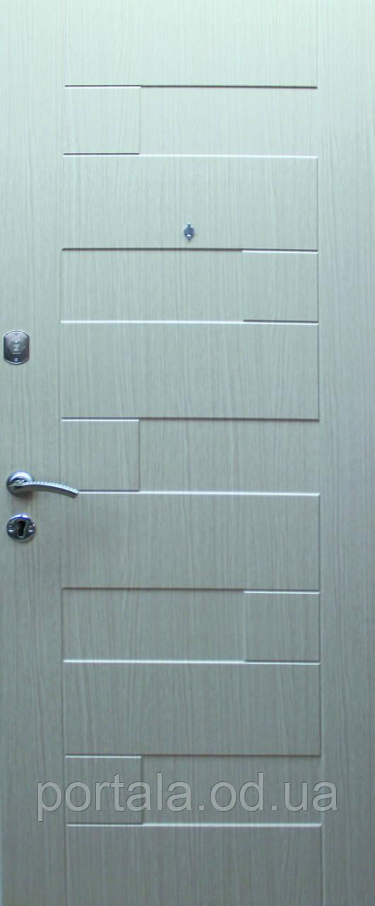 """Вхідні двері для вулиці """"Портала"""" (Еліт Vinorit) ― модель Пазл"""