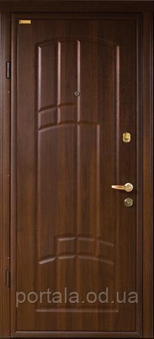 """Вхідні двері для вулиці """"Портала"""" (Еліт Vinorit) ― модель Сієста"""