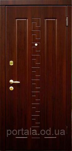 """Вхідні двері для вулиці """"Портала"""" (Еліт Vinorit) ― модель Спарта"""