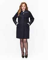 Кашемировое женское весеннее пальто для полных, цвета