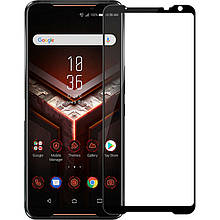 Защитное стекло Full screen PowerPlant для Asus ROG Phone 2, Black