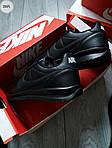 Мужские кроссовки Nike Cortez (черные) 291PL, фото 2