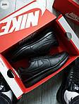 Мужские кроссовки Nike Cortez (черные) 291PL, фото 4