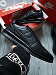 Мужские кроссовки Nike Cortez (черные) 291PL, фото 6