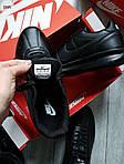 Мужские кроссовки Nike Cortez (черные) 291PL, фото 7