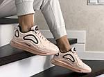 Женские кроссовки Nike Air Max 720 (пудровые) 8940, фото 4