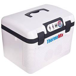Автохолодильник термоэлектрический 19 л. Холодильник автомобильный  DC/AC 12 24 220V 60W