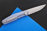 Нож складной S3 puukko flipp sky purp-9522, фото 4
