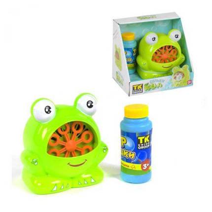 """Машина для мыльных пузырей P 21383 """"Лягушка"""", фото 2"""