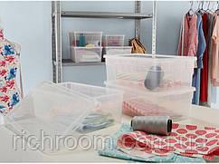 Набір універсальних контейнерів Cassetti, 4 шт. по 5 л, 33 х 19 х 11 см