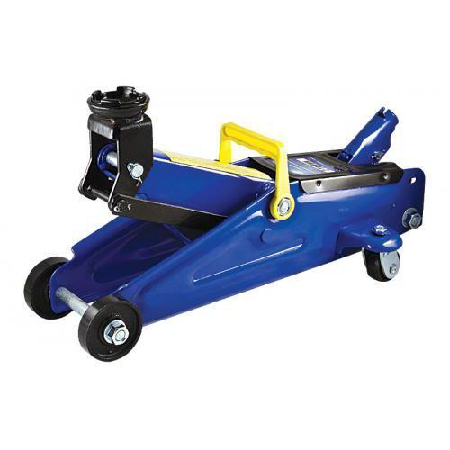 Домкрат гидравлический автомобильный подкатной 2 т min 128мм - max 300мм (картон.уп.)